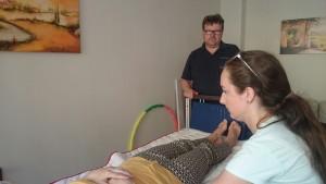 Pflegedienst Constanta - Transfer und Lagerungstechniken-Fortbildung